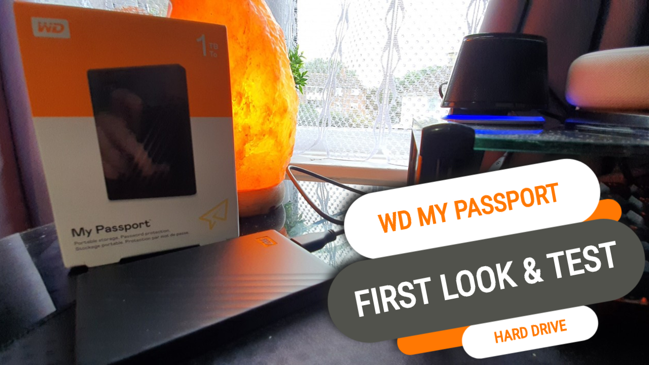 First Look at the New WD My Passport Portable Hard Drive - Recommended for Students!
